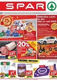 SPAR KATALOG - Ponuda prehrambenih namirnica, kozmetike, sredstava za čišćenje vrijedi do 22.09.2020. Ponuda kućanstva, tekstila, tehnike vrijedi do 29.09.2020