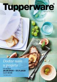 TUPPERWARE Katalog - DOĐITE NAM U POSJETU! - Akcija sniženja do 01.11.2020