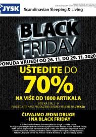 Jysk ponuda - JYSK Katalog - BLACK FRIDAY - Akcija sniženja do 29.11.2020