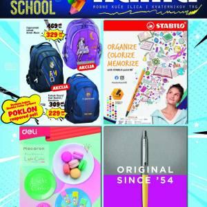 NAMA AKCIJA BACK TO SCHOOL! AKCIJA DO  25.09.2021.