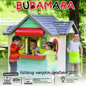 SVE ZA DJECU - BUBAMARA Katalog vanjskih igračaka 2021