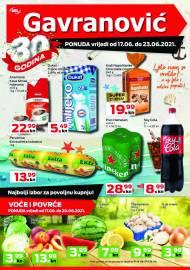 GAVRANOVIĆ KATALOG -Akcija sniženja do 23.06.2021.