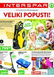 INTERSPAR KATALOG - VELIKI POPUSTI! AKCIJA DO 03.08.2021
