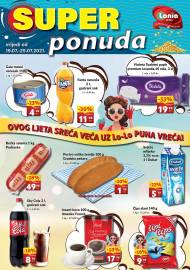 LONIA - SUPER PONUDA - SNIŽENJA -AKCIJA DO 25.07.2021.