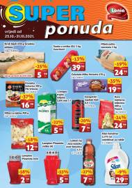 LONIA - SUPER PONUDA - SNIŽENJA -AKCIJA DO 31.10.2021.