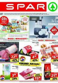 SPAR KATALOG - Ponuda prehrambenih namirnica, kozmetike, sredstava za čišćenje vrijedi do 20.07.2020. Ponuda kućanstva, tekstila, tehnike vrijedi do 27.07.2021