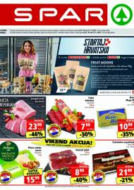 SPAR KATALOG - Ponuda prehrambenih namirnica, kozmetike, sredstava za čišćenje vrijedi do 02.11.2020. Ponuda kućanstva, tekstila, tehnike vrijedi do 09.11.2021