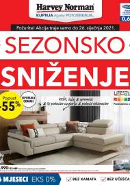 HARVEY NORMAN  - SEZONSKO SNIŽENJE - Akcija sniženja do 26.01.2021.