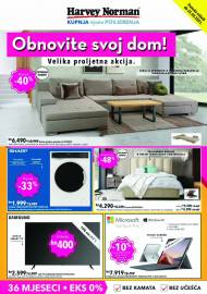 HARVEY NORMAN - OBNOVITE SVOJ DOM - AKCIJA DO 25.05.2021