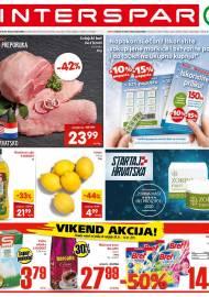 INTERSPAR KATALOG - Ponuda prehrambenih namirnica, kozmetike, sredstava za čišćenje vrijedi do 12.01.2020. Ponuda kućanstva, tekstila, tehnike vrijedi do 19.01.2021