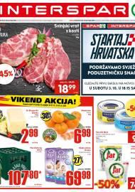 INTERSPAR KATALOG - Ponuda prehrambenih namirnica, kozmetike, sredstava za čišćenje vrijedi do 06.10.2020. Ponuda kućanstva, tekstila, tehnike vrijedi do 13.10.2020