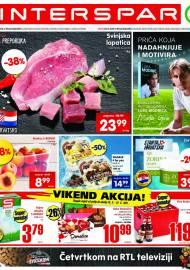 INTERSPAR KATALOG - Ponuda prehrambenih namirnica, kozmetike, sredstava za čišćenje vrijedi do 22.06.2020. Ponuda kućanstva, tekstila, tehnike vrijedi do 29.06.2021