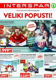 INTERSPAR KATALOG - VELIKI POPUSTI - AKCIJA DO 06.07.2021