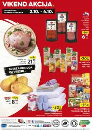 KONZUM VIKEND - Akcija do 04.10.2020.