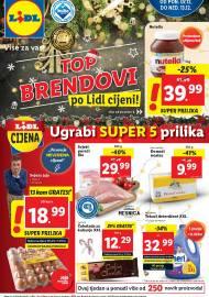 LIDL KATALOG - AKCIJA SNIŽENJA - UGRABI SUPER 5 PRILIKA - Sniženje do 13.12.2020. godine