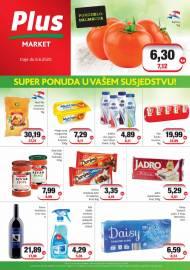 PLUS MARKET - SUPER PONUDA U VAŠEM SUSJEDSTVU -Akcija do 06.06.2020.