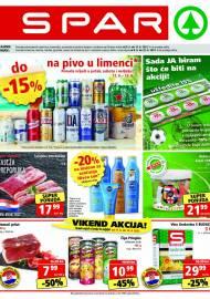 SPAR KATALOG - Ponuda prehrambenih namirnica, kozmetike, sredstava za čišćenje vrijedi do 15.06.2020. Ponuda kućanstva, tekstila, tehnike vrijedi do 22.06.2021