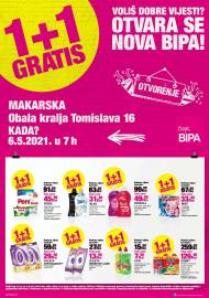 BIPA LETAK - NOVA BIPA - MAKARSKA -Akcija do 16.05.2021.