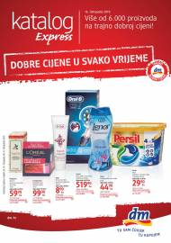 dm EXPRESS KATALOG - Akcija do 31.10.2019.