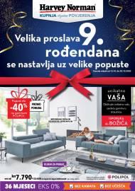 HARVEY NORMAN  - 9. ROĐENDAN SE NASTAVLJA - NAMJEŠTAJ I SPAVAĆE SOBE - Akcija sniženja do 20.10.2020.
