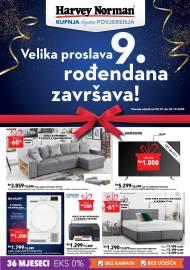 HARVEY NORMAN  - VELIKA PROSLAVA 9. ROĐENDANA  - Akcija sniženja do 26.10.2020.