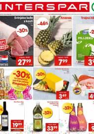 INTERSPAR KATALOG - Ponuda prehrambenih namirnica, kozmetike, sredstava za čišćenje vrijedi do 07.04.2020. Ponuda kućanstva, tekstila, tehnike vrijedi do 14.04.2020