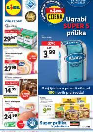 LIDL KATALOG - AKCIJA SNIŽENJA - UGRABI SUPER 5 PRILIKA - Sniženje do 19.07.2020. godine
