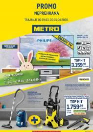 METRO AKCIJA -PROMO - NEPREHRANA - Akcija do 01.04.2020.