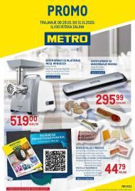 METRO AKCIJA -PROMO - NEPREHRANA - Akcija do 11.11.2020.