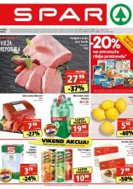 SPAR KATALOG - Ponuda prehrambenih namirnica, kozmetike, sredstava za čišćenje vrijedi do 03.11.2020. Ponuda kućanstva, tekstila, tehnike vrijedi do 10.11.2020