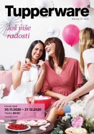 TUPPERWARE Katalog -  JOŠ VIŠE RADOSTI - AKCIJA SUPER SNIŽENJA DO 27.12.2020