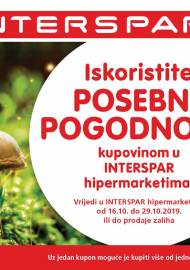 INTERSPAR BONOVI - Akcija do 29.10.2019.