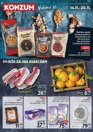 KONZUM KATALOG -SVJEŽE ZA VAS SVAKI DAN - Akcija do 20.11.2019.