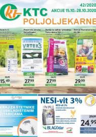 KTC KATALOG POLJOLJEKARNE - Akcija sniženja do 28.10.2020. Godine