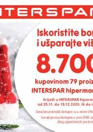 INTERSPAR BONOVI -Akcija do 15.12.2020.