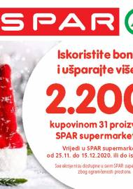 SPAR BONOVI - Akcija do 15.12.2020.