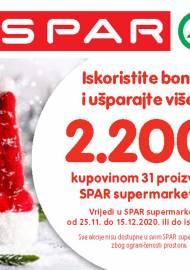 SPAR BONOVI -Akcija do 15.12.2020.
