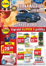 LIDL KATALOG - AKCIJA SNIŽENJA - UGRABI SUPER 5 PRILIKA - Sniženje do 25.10.2020. godine