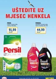 METRO AKCIJA -MJESEC HENKELA - Akcija do 29.04.2020.