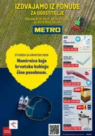 METRO AKCIJA -IZDVAJAMO IZ PONUDE ZA UGOSTITELJE - Akcija do 22.07.2020.