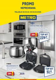 METRO AKCIJA -NEPREHRANA - Akcija do 04.03.2020.