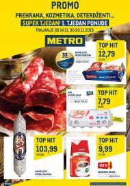 METRO AKCIJA -PROMO PONUDA 2. tjedan ponude - PREHRANA, KOZMETIKA, DETERDŽENTI  - Akcija do 20.11.2019.