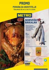 METRO AKCIJA -PROMO PONUDA ZA UGOSTITELJE!  - Akcija do 27.11.2019.
