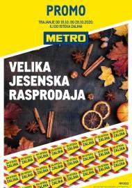 METRO AKCIJA - VELIKA JESENSKA RASPRODAJA Akcija do 28.10.2020.
