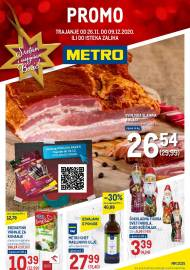 METRO AKCIJA -PROMO - PREHRANA - Akcija do 09.12.2020.