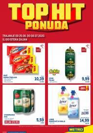 METRO AKCIJA -TOP HIT PONUDA - Akcija do 08.07.2020.