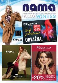 NAMA KATALOG - HELLO WINTER! Akcija do 07.12.2019!