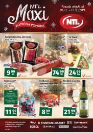 NTL MAXI KATALOG -Tjedna ponuda do 11.12.2019.