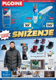 PLODINE  KATALOG - TOTALNO SUPER SNIŽENJE  - Akcija do 11.12.2019.