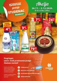 SONIK KATALOG - SONIK POSTAJE STUDENAC - Akcija sniženja do 02.12.2020.